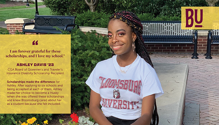Scholarships Made the Difference for Ashley Davis '23